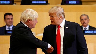 """""""Locura y todo tipo de crisis y caos"""": Filtran cómo Boris Johnson ve a Trump encabezando el 'Brexit'"""