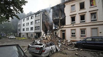 Explosión en un edifico en Alemania dejó 25 personas heridas