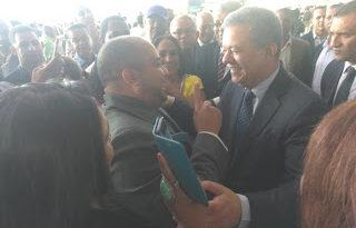 Leonel es recibido masivamente en NY