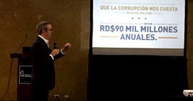 Luis Abinader presenta plan de rescate institucional