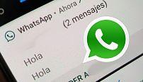 Nueva barra de notificaciones llega a WhatsApp y así luce