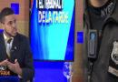 POLICÍA ACOGE LA PROPUESTA DE ARISTIDES MARTE, CÁMARAS CON LOS POLICÍAS.