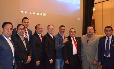 Juramentan equipos de trabajo Leonel Fernández 2020 en Hackensack, New Jersey
