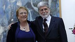 """Ex canciller brasileño y posible visita de Bachelet a Lula: """"Sería de gran importancia política y afectiva"""""""