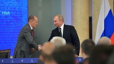 """Putin: """"Casi 25 millones de ataques cibernéticos"""" fueron frustrados durante el Mundial 2018"""