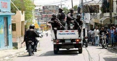 Policía Nacional informa desmantela banda de delincuentes en Boca Chica