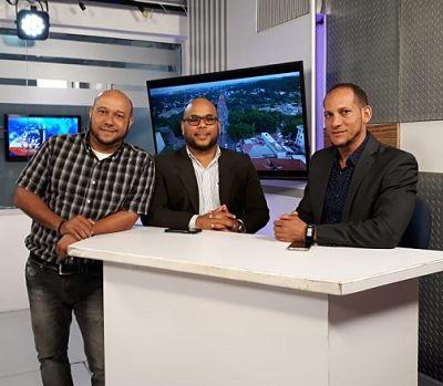 Periodistas Argelys Quiñones y Eduardo Guerra celebran primer año programa Cibao en la Tarde