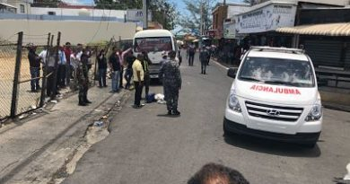 Matan comerciante y hieren control de guagua en Santiago