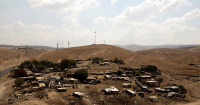 Revelan que Israel ya planeaba la expulsión de los beduinos de Cisjordania hace 40 años