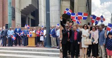 Consulado en Boston se une a celebración de Restauración Nacional