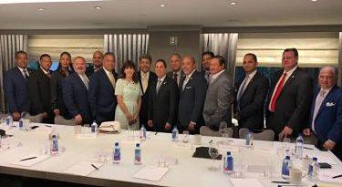 Nueva embajadora EEUU en RD se reúne con empresarios dominicanos en Nueva York
