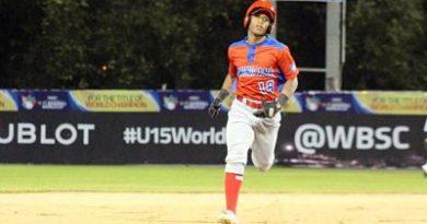 Dominicana debuta con juego sin hits en mundial U-15