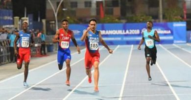 Luguelin y Lewis se apropian del oro en atletismo y judo para acercar al país al centenar de medallas