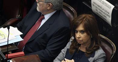 Cristina Fernández muestra su enojo tras la incautación de su banda presidencial