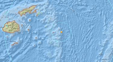 PELIGRO:Fuerte sismo de magnitud 8,2 cerca de las islas Fiyi