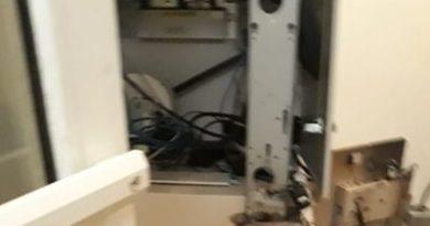 Desconocidos roban cajero UASD Nagua
