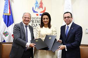 Despacho Primera Dama y Ministerio Educación acuerdan promover valores en las escuelas con fundación que impulsa el Papa Francisco