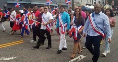 Dominicanos celebran XVI Desfile y Festival Cultural