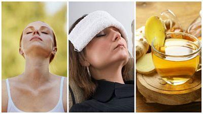 Alivia el dolor de cabeza sin recurrir a pastillas aplicando estos