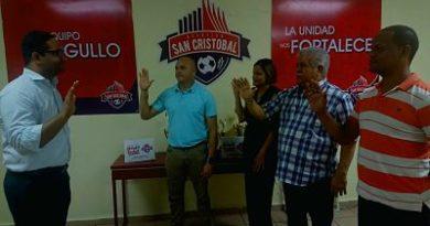 Benny Metz culmina presidencia del Atlético San Cristóbal y pasará a presidir una fundación de fútbol