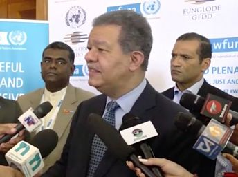 Escogen a Leonel presidente de Federación Mundial de Naciones Unidas