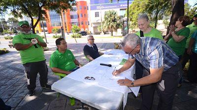 Marcha Verde pide dejar políticos fuera judicatura