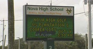 Sospechoso bajo custodia tras amenaza hecha a Nova Middle, Nova High