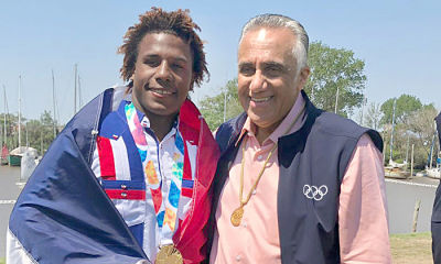 Corniel gana oro en los Juegos Olímpicos de la Juventud