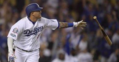 Machado y Grandal disparan un bambinazo cada uno y ponen a los Dodgers 2-0 ante Atlanta