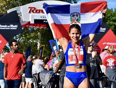 EU: Nathasha Méndez, una dominicana que triunfa en los Medio Maratón