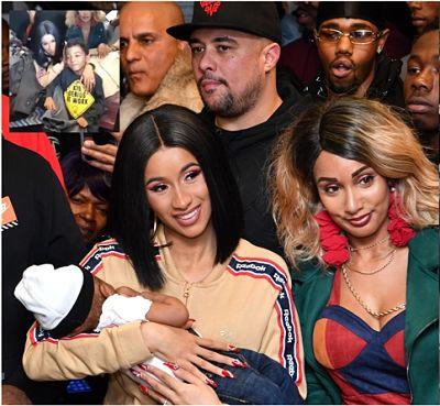 La rapera dominicana Cardi B entrega abrigos y tenis a niños en Brooklyn