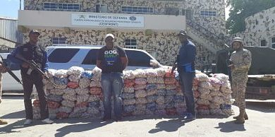 Cesfront apresa reconocido contrabandista y le ocupa más de una tonelada de ajo en Dajabón