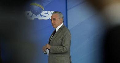Policía Federal de Brasil pide imputar a Michel Temer por corrupción y lavado de dinero