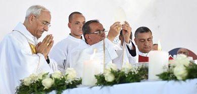 Celebran en República Dominicana 525 años de la primera Eucaristía en América