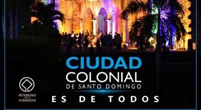 """Cultura inicia campaña """"Ciudad Colonial es de todos"""""""