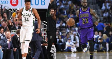 Giannis Antetokounmpo y LeBron James serán los capitanes en el All Star 2019