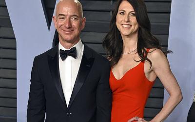El fundador de Amazon y Jeff Bezos su esposa anuncian divorcio