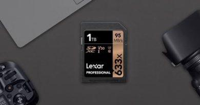 Lexar pone a la venta la primera tarjeta SD de 1 TB