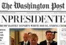 Distribuyen falsa edición de The Washington Post que anuncia la renuncia de Trump