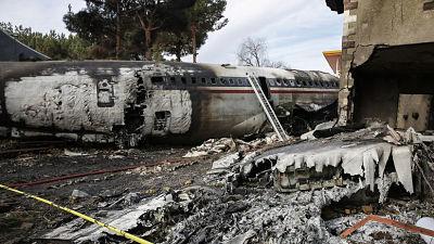 ALERTA se estrella avión Boeing 707 de carga cerca de Teherán