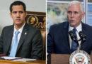 Mike Pence se contacta con Juan Guaidó y promete su apoyo «hasta que se restablezca la democracia» en Venezuela