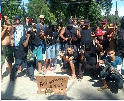 PELIGRO :Los narcos que desafían a Jair Bolsonaro
