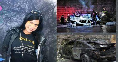 Identifican sargento dominicana que murió carbonizada en brutal accidente en el Alto Manhattan