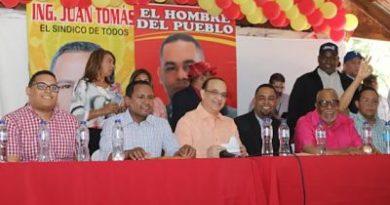 """Quique Antún dice en un gobierno del PRSC serán """"implacables"""" contra la delincuencia"""