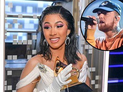 Cardi B le rindió tributo a Mac Miller en los Grammys 2019