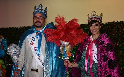 Frank Perozo y Nashla Bogaert son coronados Rey y Reina del Desfile Nacional