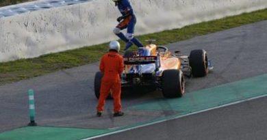 Norris de McLaren es el más rápido en las pruebas de Fórmula Uno