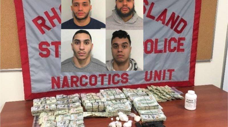 Arrestan cuatro hermanos dominicanos con 90 gramos de fentanilo, miles de dólares y arma