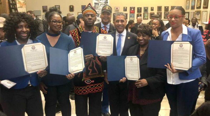 Espaillat reconoce líderes de color en el Mes de la Herencia Afroamericana en Estados Unidos