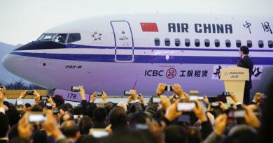 China ordena a sus aerolíneas suspender el uso de los Boeing 737 MAX